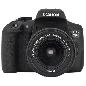 دوربین عکاسی کانن EOS 750D